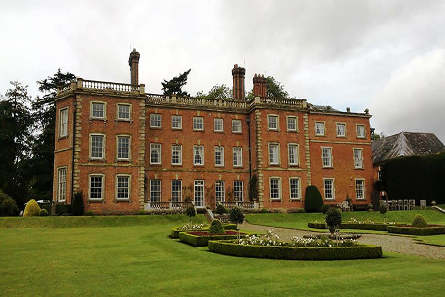 A Downton Hall by Gareth William