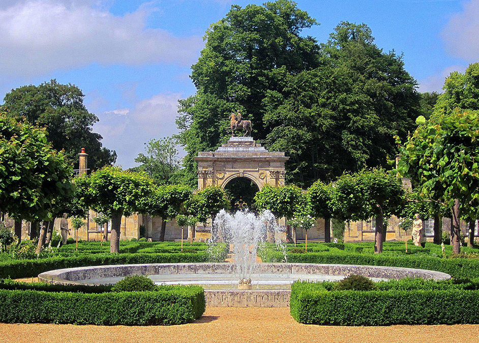A Wilton House Fountain and Triumphal Arch by Derek Harper