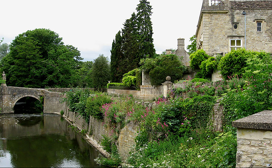 Iford Manor View Over River