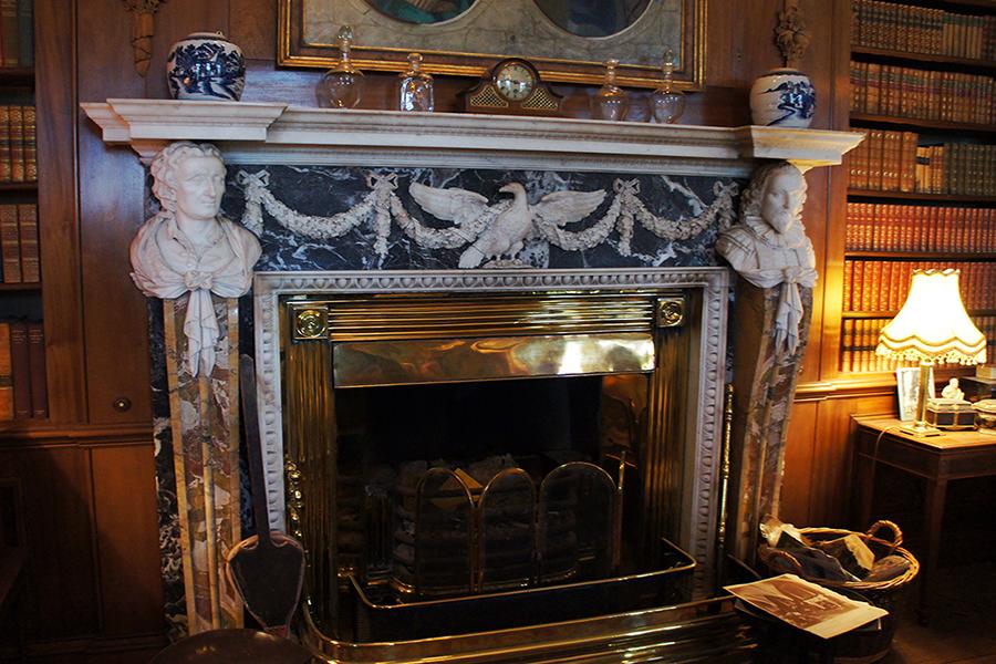 Burwarton Library Fireplace