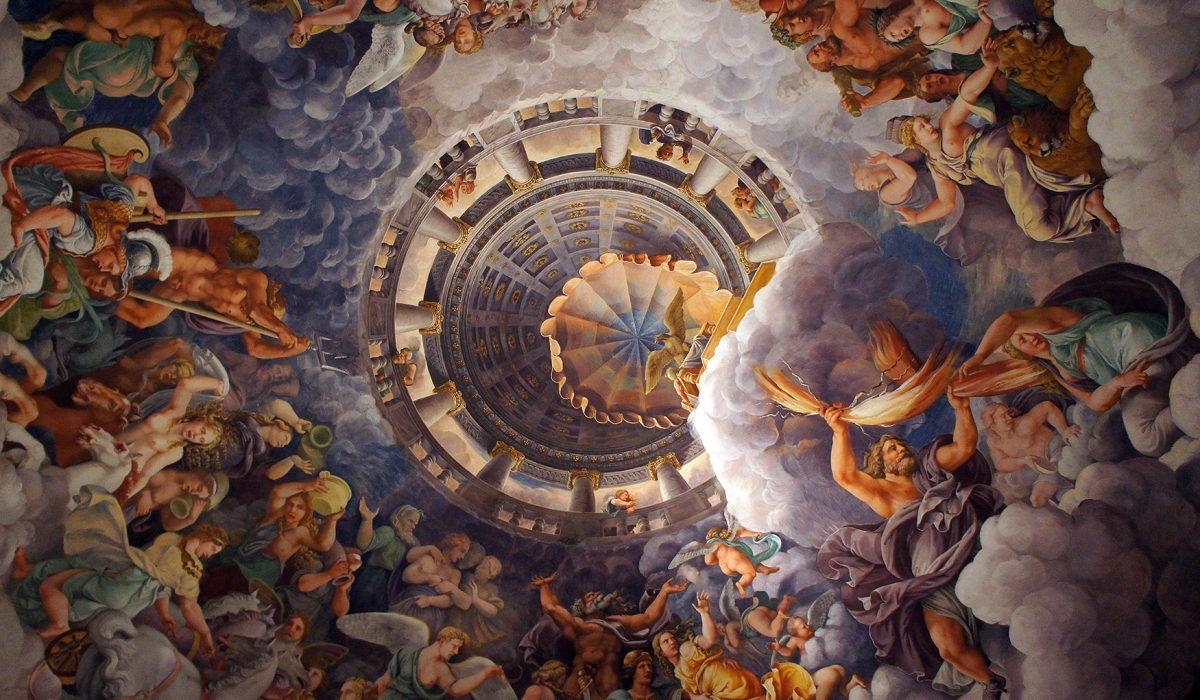 Palazzo Te Giants Room Ceiling