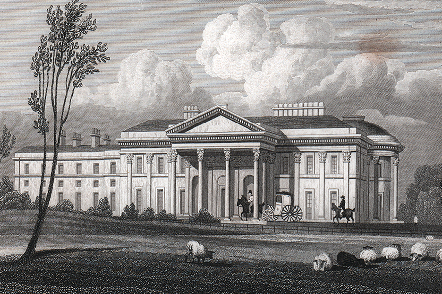 PD Willey Park Engraving 1847