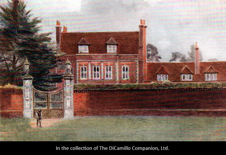 Byfleet Manor Byfleet House Manor House Dicamillo