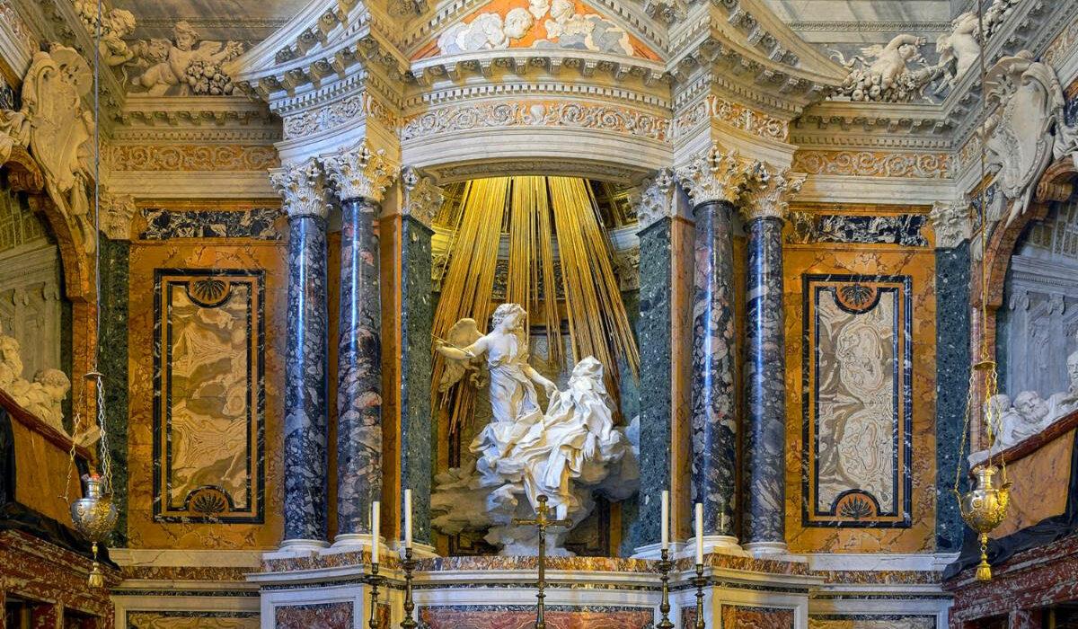 The Ecstasy of Saint Teresa, 1647-52